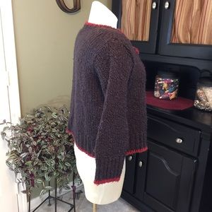 Relais Knitware Sweaters - 💥 Relais Knitwear  Brown Chunky Knit Sweater Sz 2